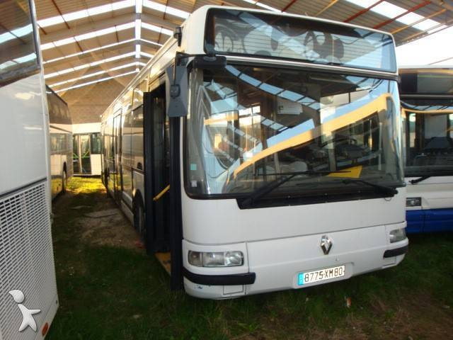 autobus renault interurbain gazoil euro 2 occasion n 256396. Black Bedroom Furniture Sets. Home Design Ideas