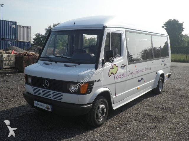 photos autobus mercedes minibus mercedes 410d occasion 770713. Black Bedroom Furniture Sets. Home Design Ideas