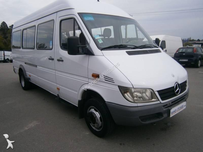 minibus occasion mercedes nc sprinter 411 21 places gazoil annonce n 1762474. Black Bedroom Furniture Sets. Home Design Ideas