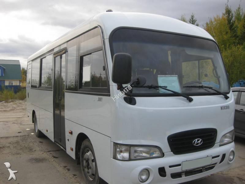 photos autobus hyundai minibus hyundai hd county occasion 631971. Black Bedroom Furniture Sets. Home Design Ideas