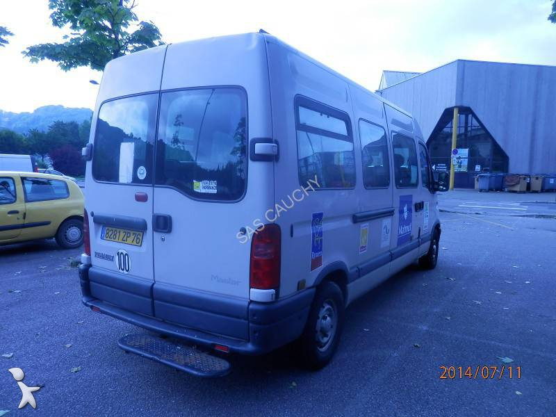 photos autobus renault minibus renault master minibus 17 places occasion 1052734. Black Bedroom Furniture Sets. Home Design Ideas