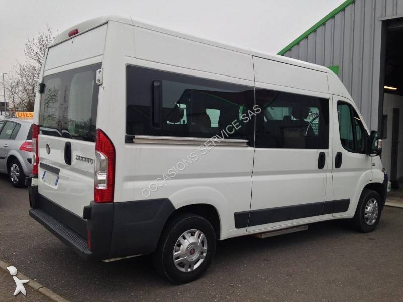 used fiat minibus ducato 9 places tpmr diesel euro 5 n 1597068. Black Bedroom Furniture Sets. Home Design Ideas