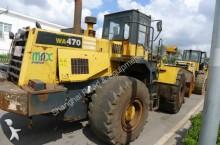 used Komatsu wheel loader