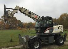 used Terex wheel loader