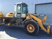 damaged Liebherr wheel loader