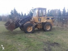 damaged Caterpillar wheel loader