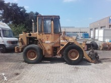 damaged Fiat-Allis wheel loader