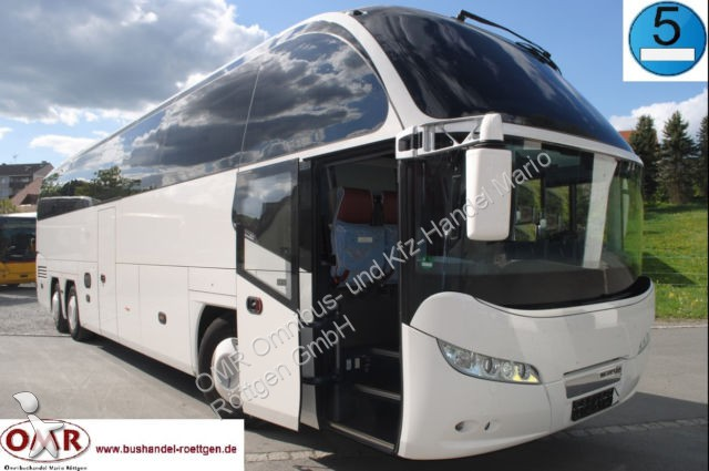 Used Neoplan Cityliner tourism coach N 1217 HDC 5805217