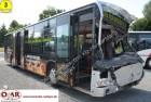 verunglückter Mercedes Reisebus