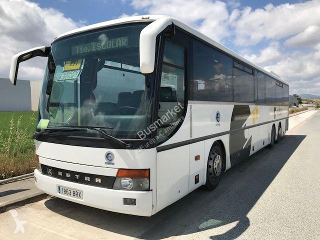 autocar setra de tourisme 319ul gazoil euro 3 occasion n 1823925. Black Bedroom Furniture Sets. Home Design Ideas