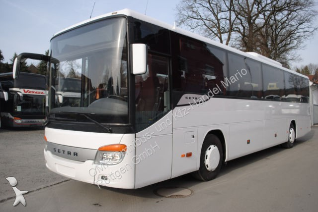 Used Setra S 415 tourism coach UL  Suchen Bestuhlung