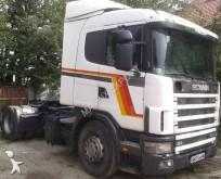 ciągnik siodłowy Scania P124 400