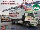 MAN TGA 26.480 Kran Fassi600 16t.=2.85m+Seilwinde*FB tractor unit
