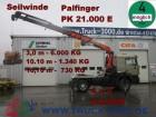 MAN 19.464 4x4 PK 21000 Kran Seilwinde 3,0m - 6000KG tractor unit