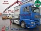 MAN TGA 18.400 Kran 6.55 m = 1.5t.*Retarder tractor unit