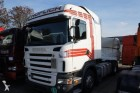 cabeza tractora Scania accidentada