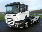 cap tractor Scania P380 FULL PET REG TRACTOR UNIT 2008 BV57 KNF