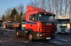 ciągnik siodłowy Scania 124L 360 manual gearbox