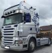 cap tractor Scania R 420 TOPLINE MANUAL RETARDER KLIMA FULL SPOJLER EURO 4 2005r