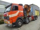 ciągnik siodłowy Volvo FH16 470 8X4 EFFER 115 TON