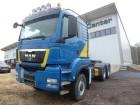 MAN TGS 33.480 BLS 6x6 L-Haus/Kipphydraulik/EURO 5 tractor unit