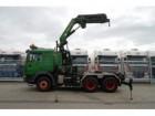 MAN 26.464 6x4 WITH PALFINGER PK 36992 CRANE tractor unit