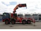 cap tractor Mercedes Actros 4150 V8 8X8 WITH PALFINGER PK 130002 CRAN