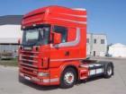 Scania 124L420 TOPLINE, BIG TANKS ! tractor unit