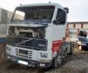 ciągnik siodłowy produkty niebezpieczne / adr Volvo powypadkowy