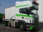 cap tractor Scania R 124-420 6X2 MANUEL ETADE
