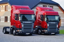 ciągnik siodłowy Scania R 420 LOW DECK / MEGA RETARDER EURO 4