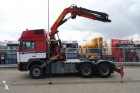 MAN 26.464 6X4 WITH PALFINGER PK 32000 CRANE tractor unit