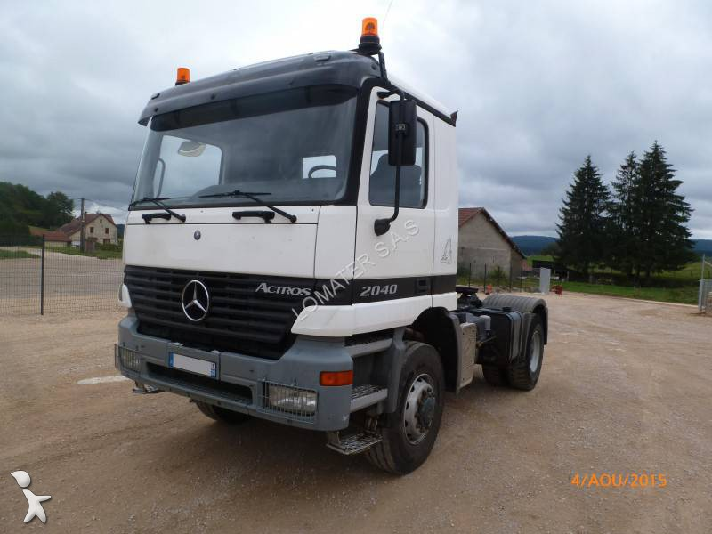 tracteur mercedes standard actros 2040 4x4 euro 6 occasion. Black Bedroom Furniture Sets. Home Design Ideas