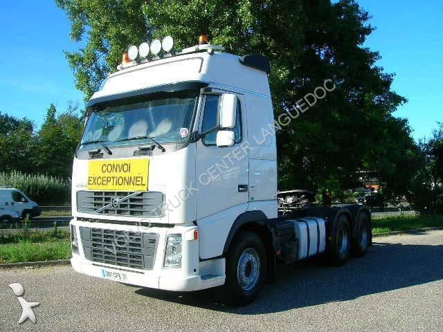 tracteur volvo convoi exceptionnel fh16 580 6x4 gazoil euro 4 occasion n 1385233. Black Bedroom Furniture Sets. Home Design Ideas