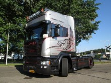 Scania R 580 Silve Giffin 23/100 tractor unit