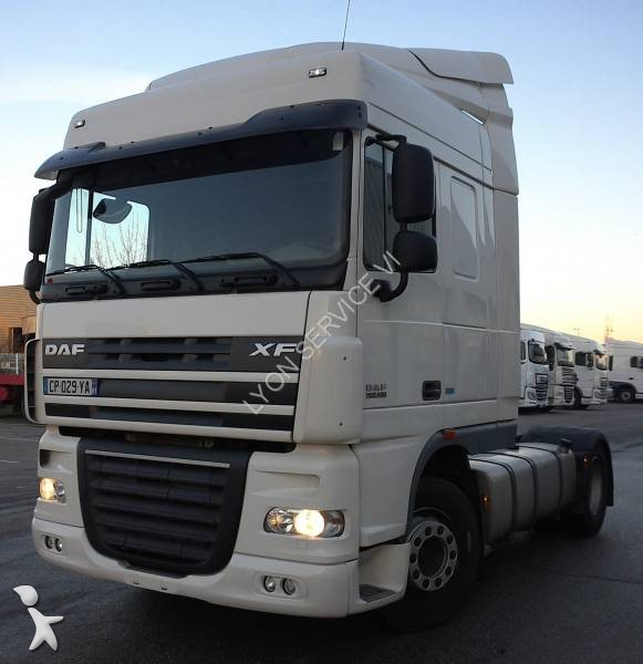 tracteur daf standard xf105 460 4x2 gazoil euro 5 occasion. Black Bedroom Furniture Sets. Home Design Ideas