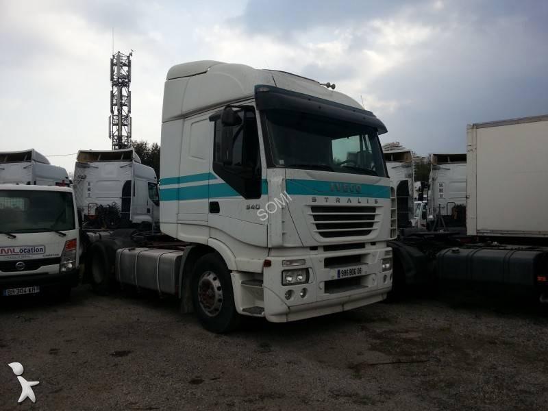 Iveco Villeneuve Loubet : tracteur iveco standard stralis 540 4x2 euro 3 occasion n 1628467 ~ Gottalentnigeria.com Avis de Voitures