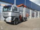 MAN TGA 26.460 6x4 with Palfinger 19 ton/meter crane tractor unit