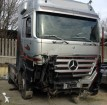 trattore Mercedes incidentato