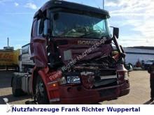 ciągnik siodłowy Scania powypadkowy