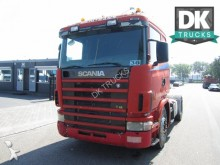 Scania 124 400 MANUEL GEARBOX tractor unit
