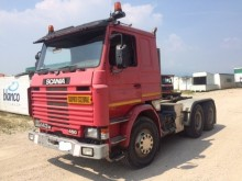 Scania 143-450 6X4 CAT III tractor unit