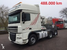 DAF XF 105 510 6x2 488.000KM!!! manual 10 tyres tractor unit