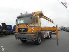 MAN 33.463 6X4 FULL STEEL GERMAN REGISTRATION HIAB 280-5 tractor unit