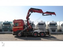 cabeza tractora Scania R 500 6X4 HIGHLINE WITH HIAB 477-E7 CANE AND JI