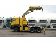 MAN 40.463 6x6 WITH EFFER 52N CRANE tractor unit