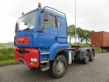 MAN 33.480 6X6 MANUAL STEEL tractor unit