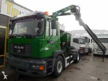 MAN 19.314 + MANUAL + EURO 2 + SPRING/SPRING + CRANE tractor unit