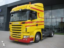 Scania LA R420 4X2 MANUAL VERSTELLBARE SATTEL tractor unit