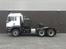 used MAN low bed tractor unit